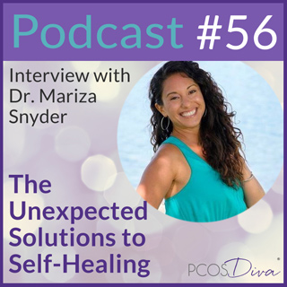 PCOS Diva Podcast 56 - Dr. Mariza Snyder